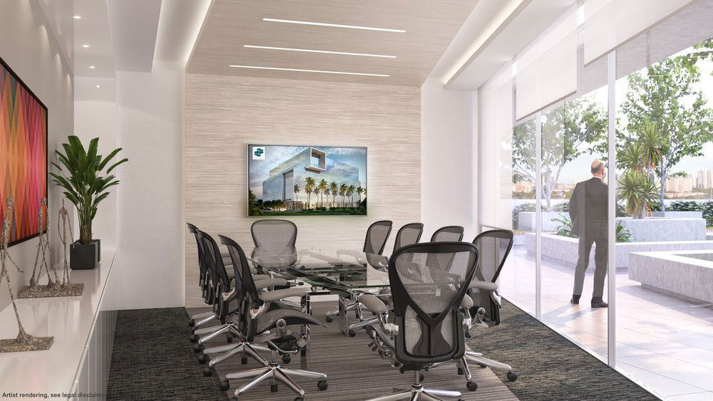 Emerald Aventura, New Class A Office Building - Conference Room