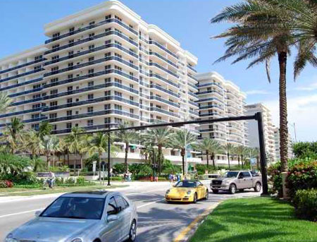 SoliMar Condominiums in Surfside, Miami Beach, Florida