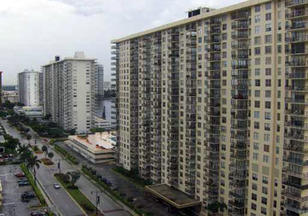 Winston Towers in Sunny Isles, Florida