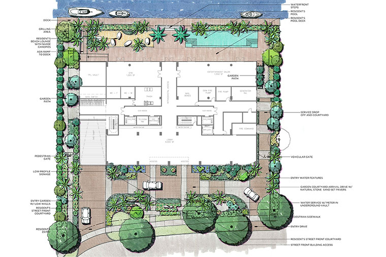 Aquablu Amenities Plan