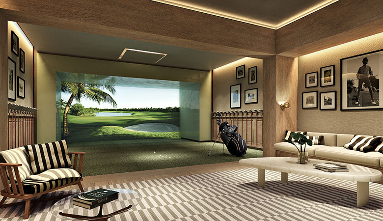 Auberge Golf Simulator