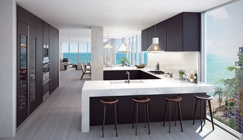 Auberge Residence AS Kitchen