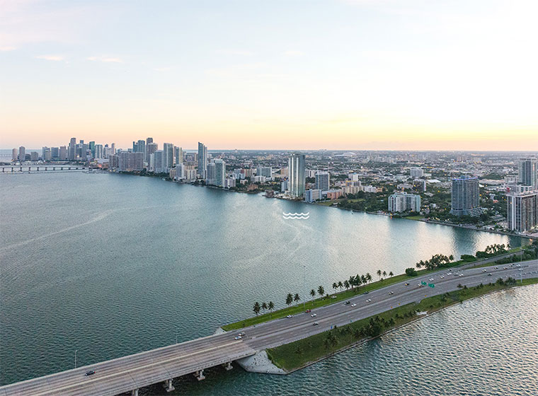 Biscayne Beach Location