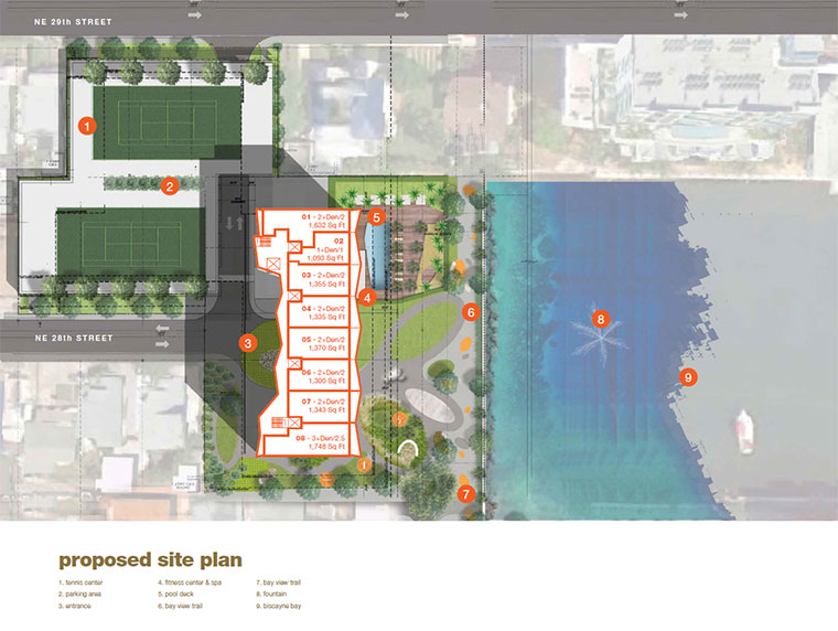 Iconbay Amenities Plan