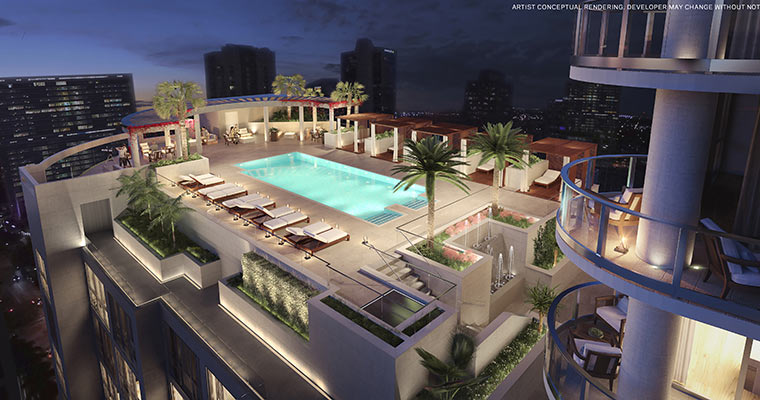100 Las Olas Elevated Pool Deck