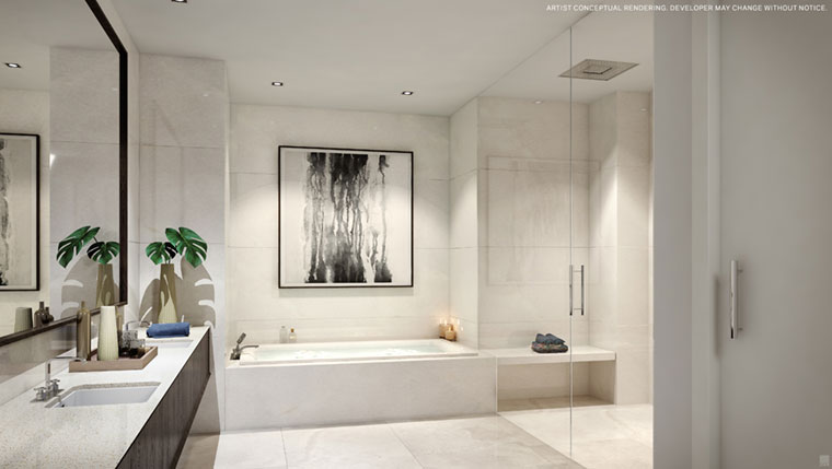 100 Las Olas Unit C Master Bath