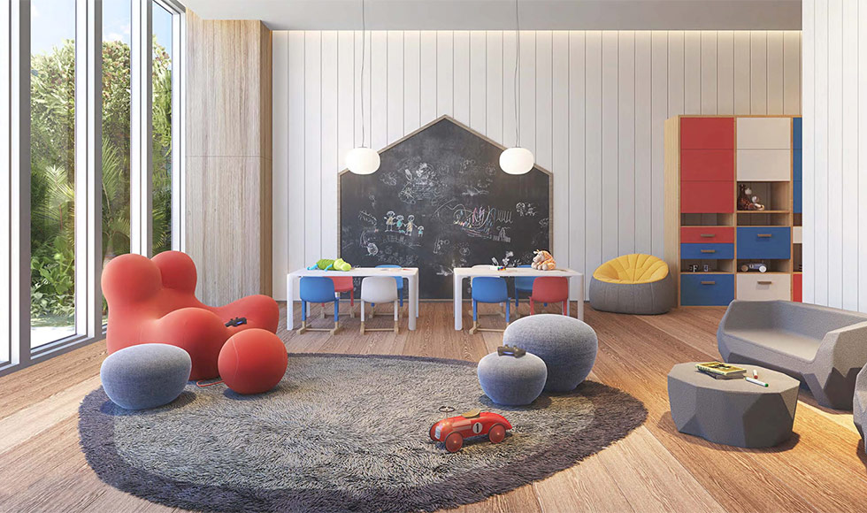 57 Ocean Children Activity Room