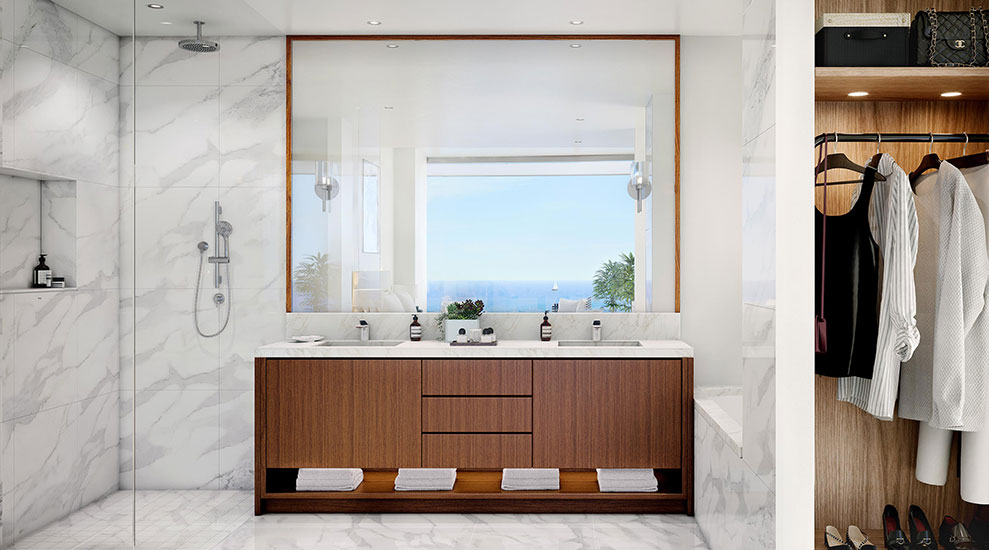 Una Residences Bathroom