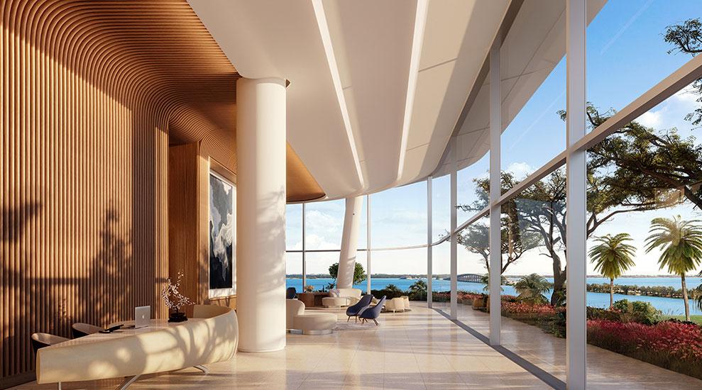Una Residences Lobby