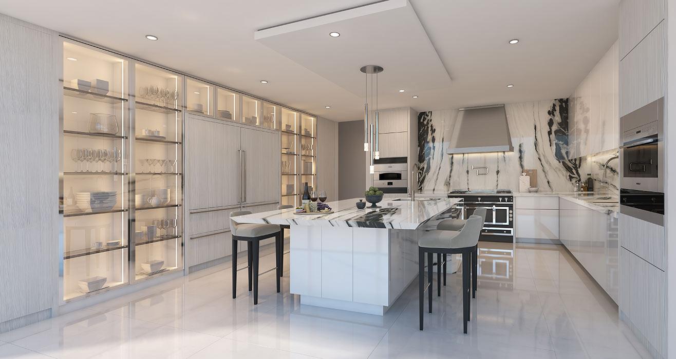 Amalfi Closed Kitchen Option