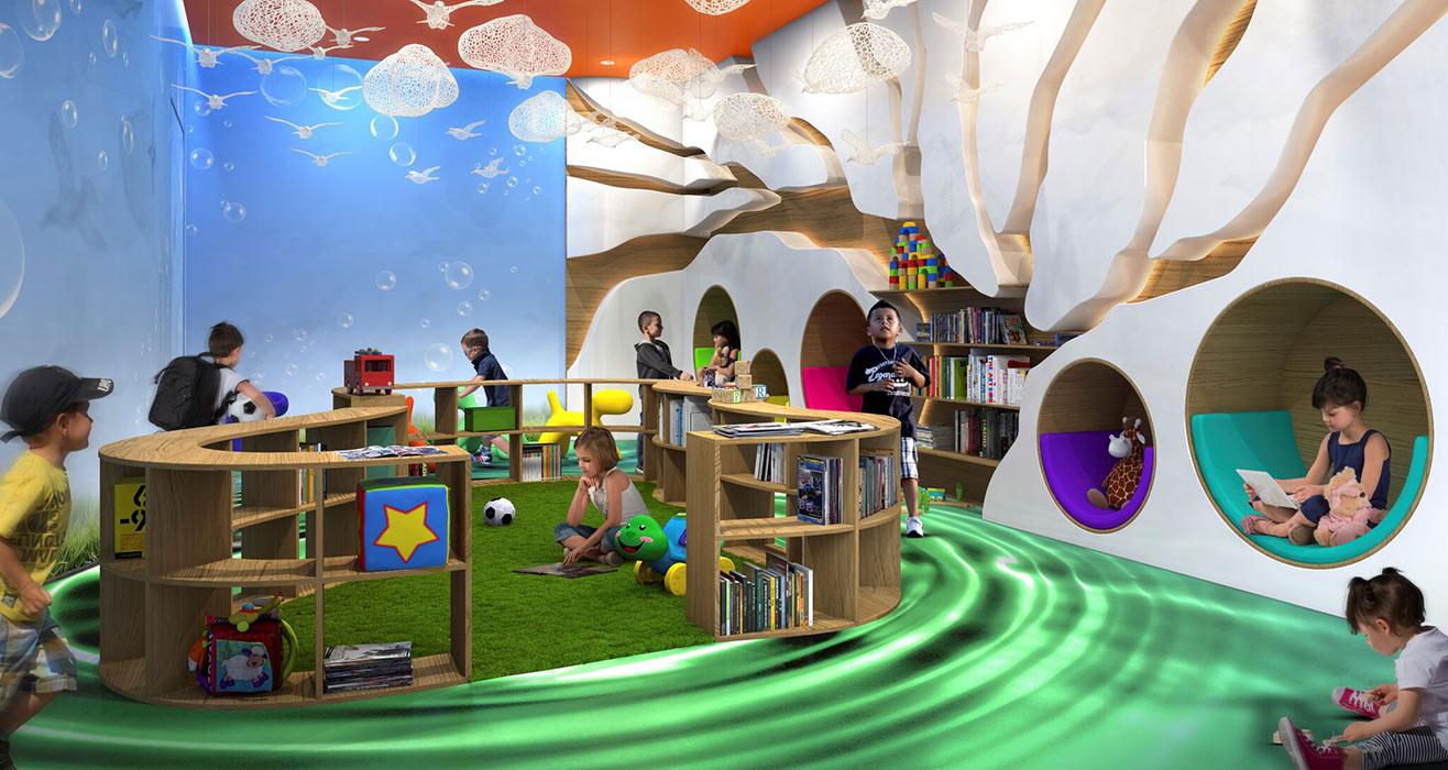 Acqualina Estates Children's Room