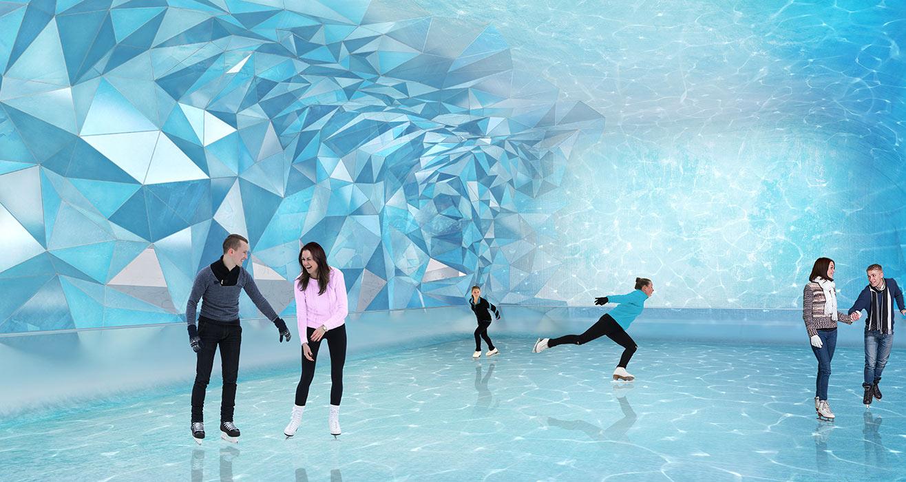 Acqualina Estates Ice Skating