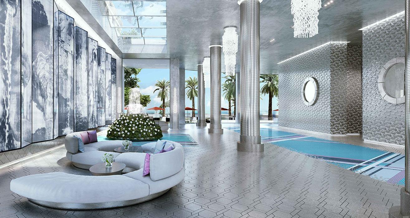 Acqualina Estates Lobby