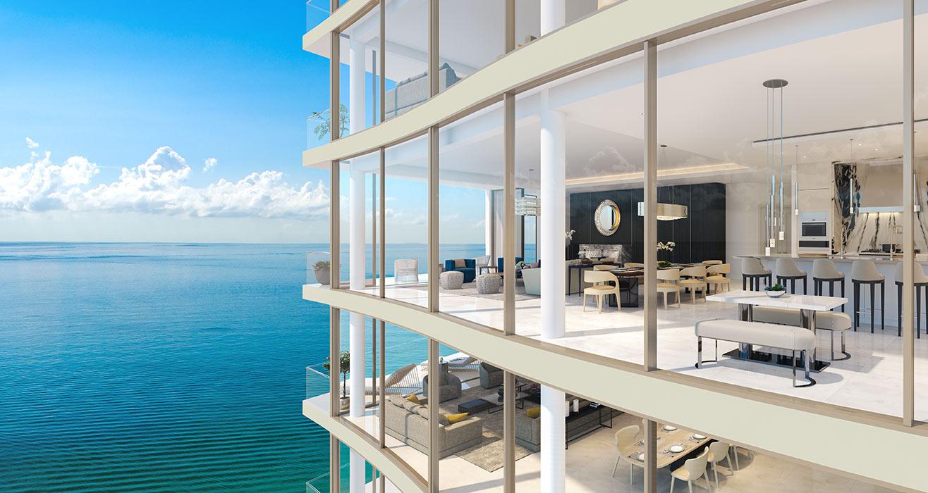 Ravello 57 Feet Grand Living Space