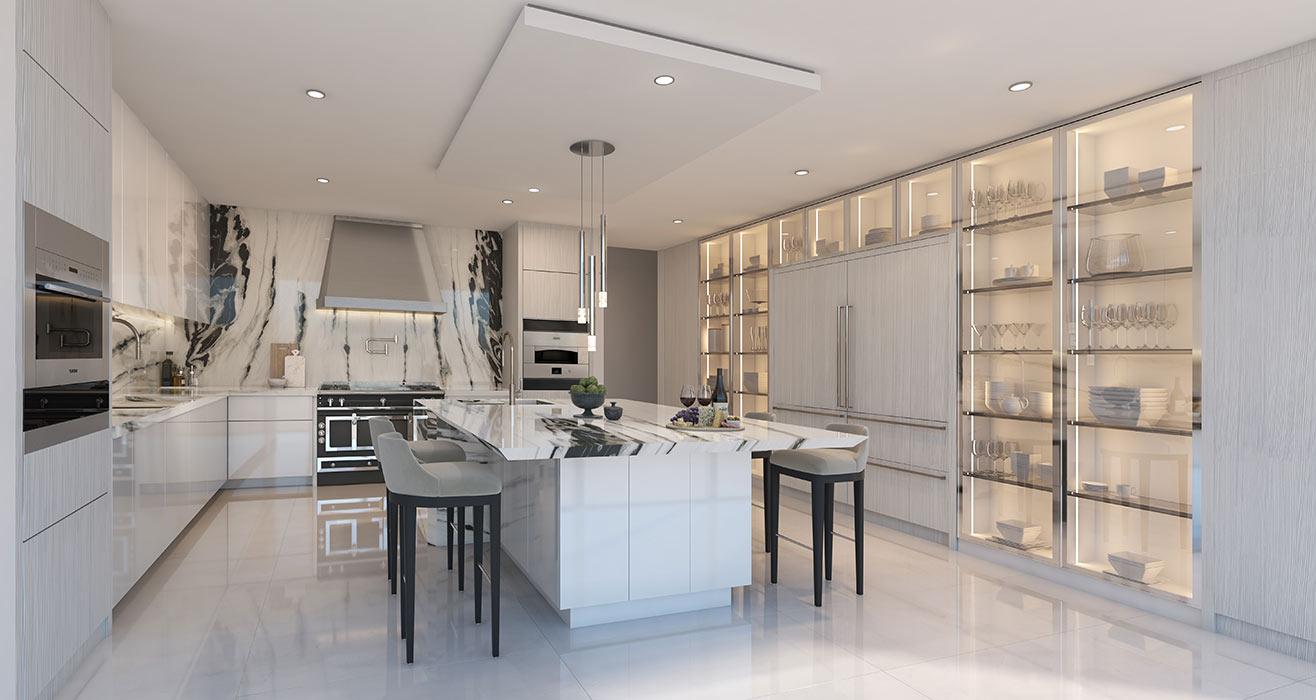 Ravello Closed Kitchen Option