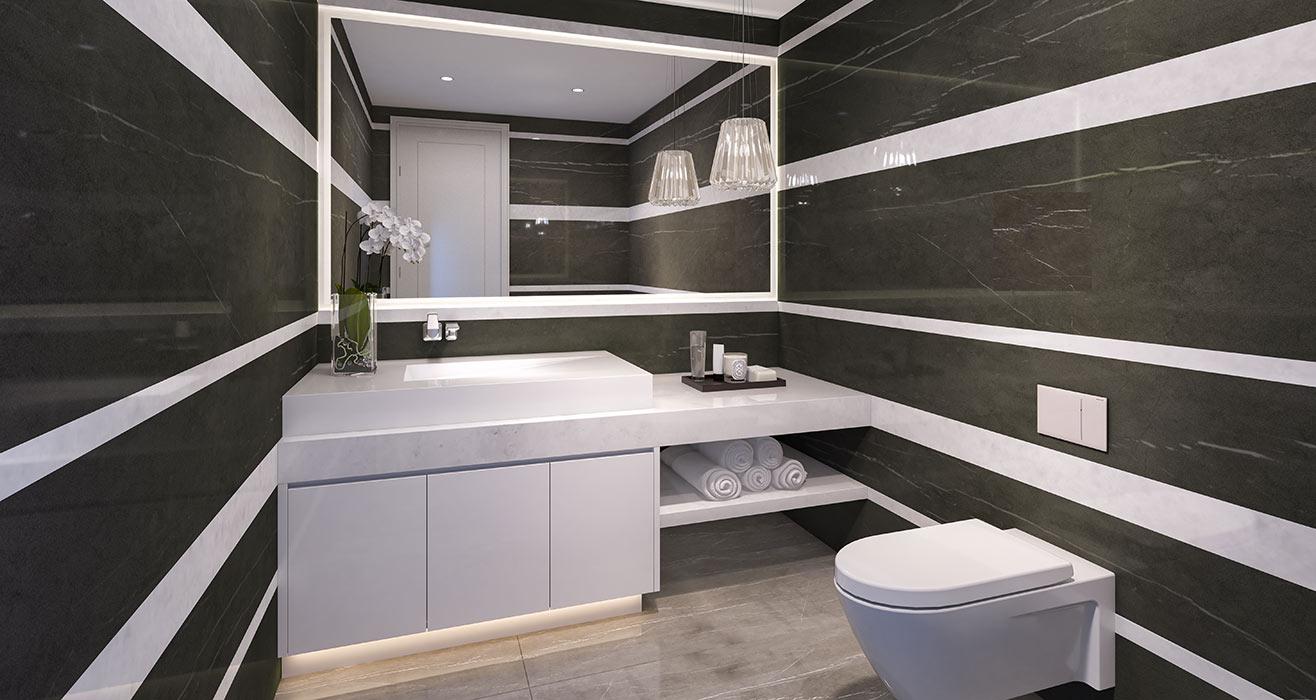 Ravello Powder Bathroom