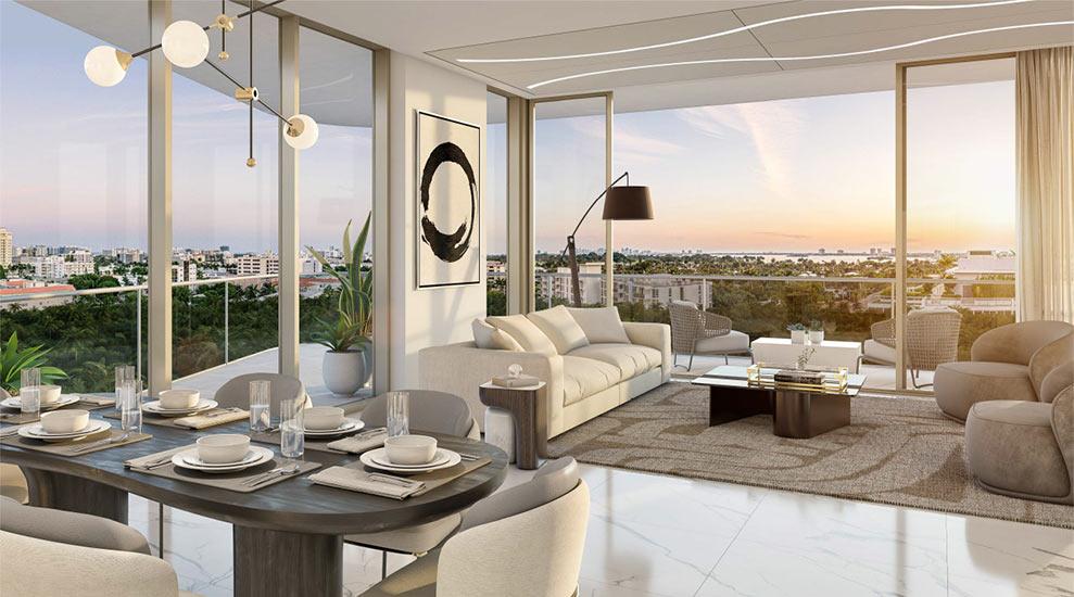 Ambienta Residence Living Room