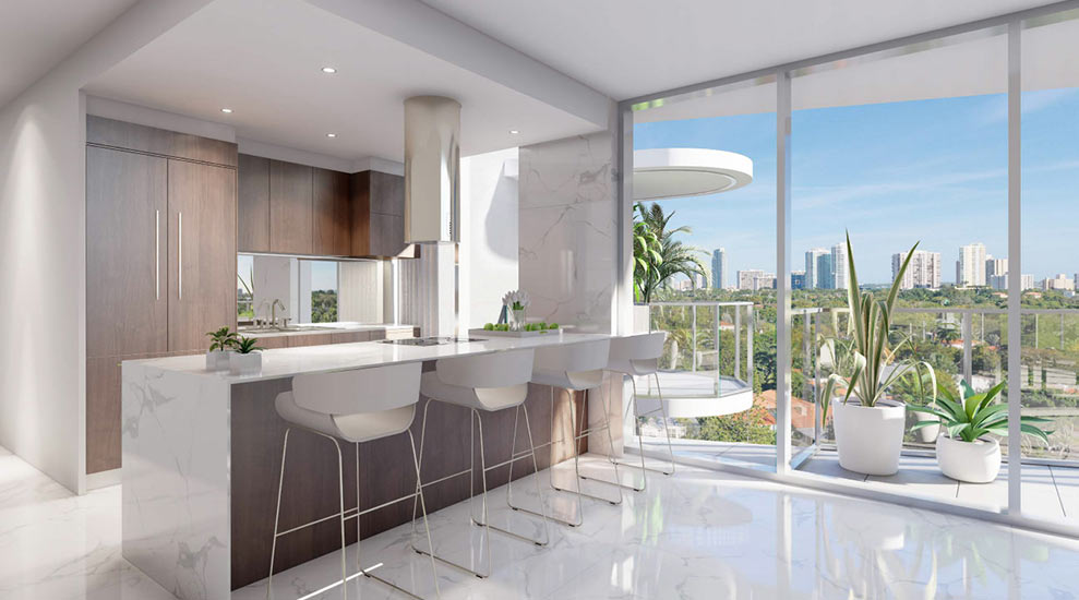 Ambienta Residence Kitchen