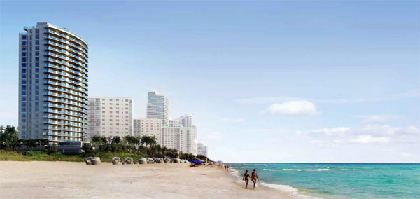 Apogee Beach in Hollywood Beach, Florida