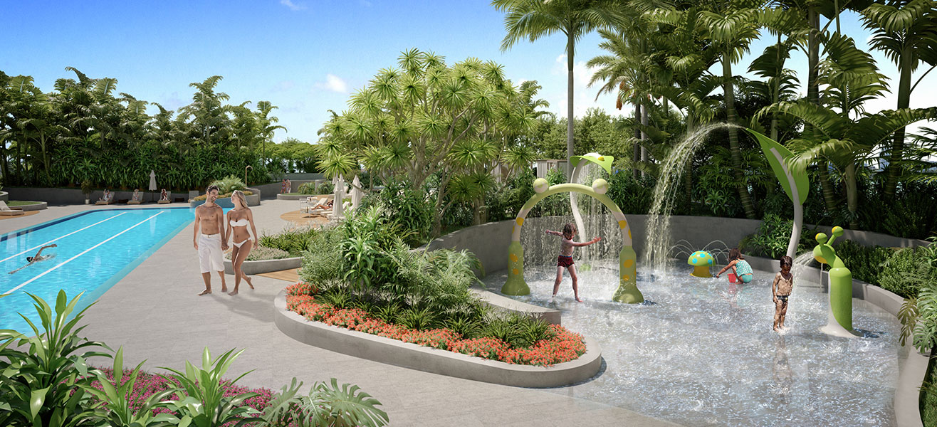 Aria Reserve Amenities Garden Level