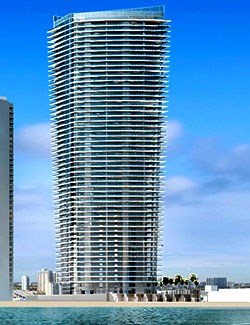 ECHO Aventura, new luxury waterfront residences