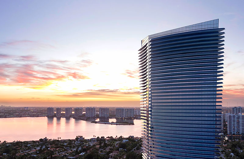 ECHO Aventura, New Luxury Waterfront Residences - Street View