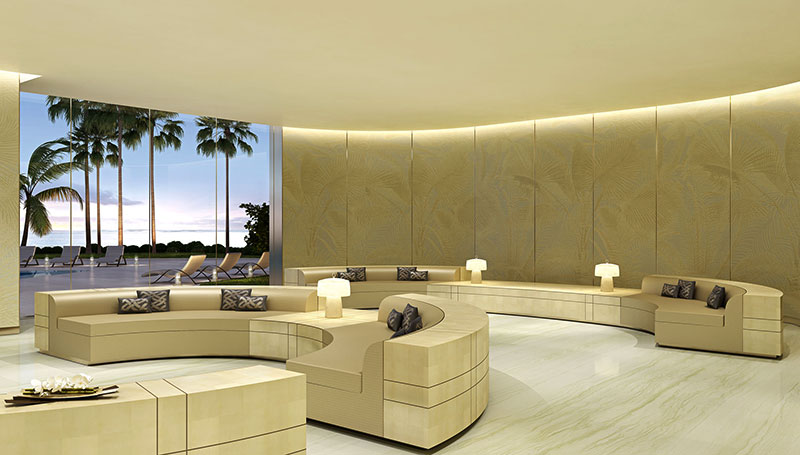 Armani Tower Luxury Oceanfront Residences - Lounge