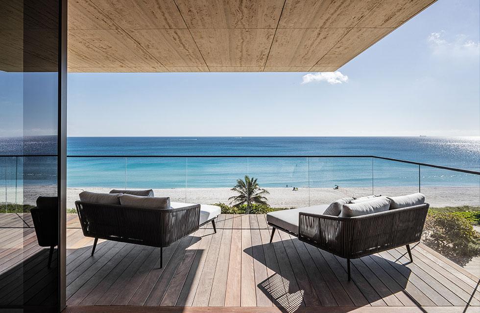 Arte Surfside Residence Balcony