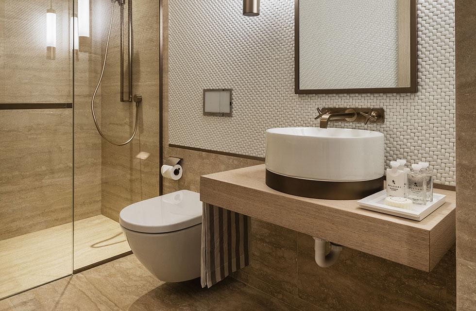 Arte Surfside Residence Guest Bathroom