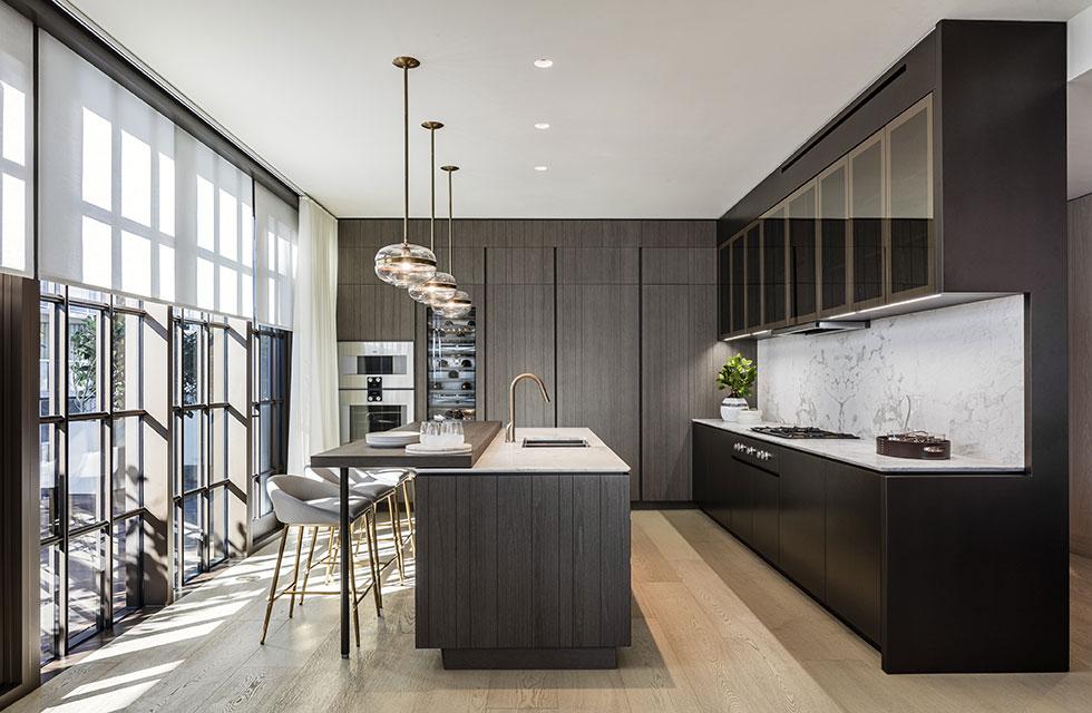 Arte Surfside Residence Kitchen