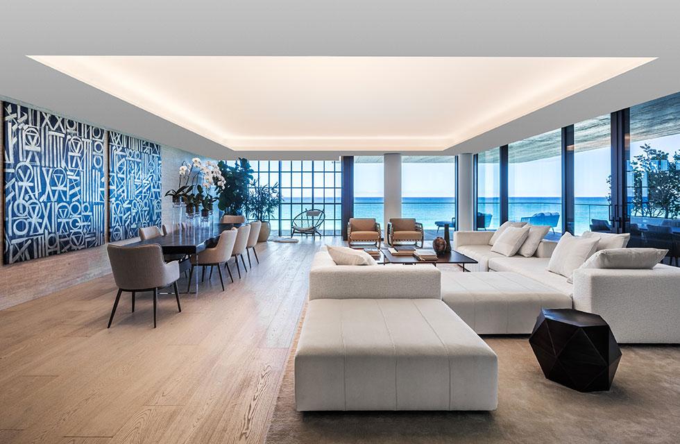Arte Surfside Residence Living Room