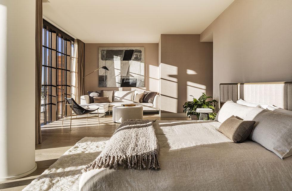 Arte Surfside Residence Master Bedroom