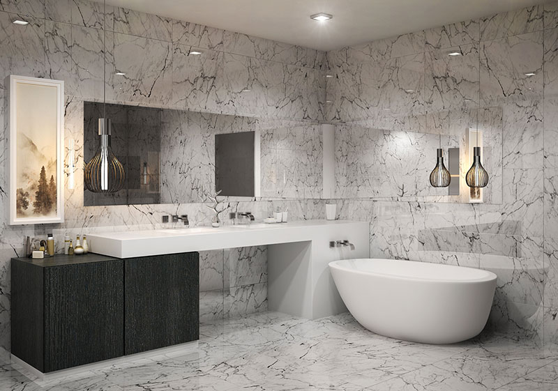 Aurora Residences, New Development in Sunny Isles Beach - Bathroom