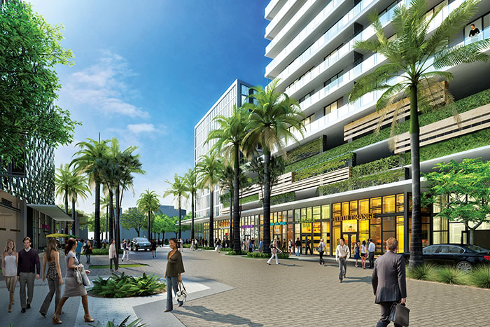 Aventura ParkSquare - Retail, Walking