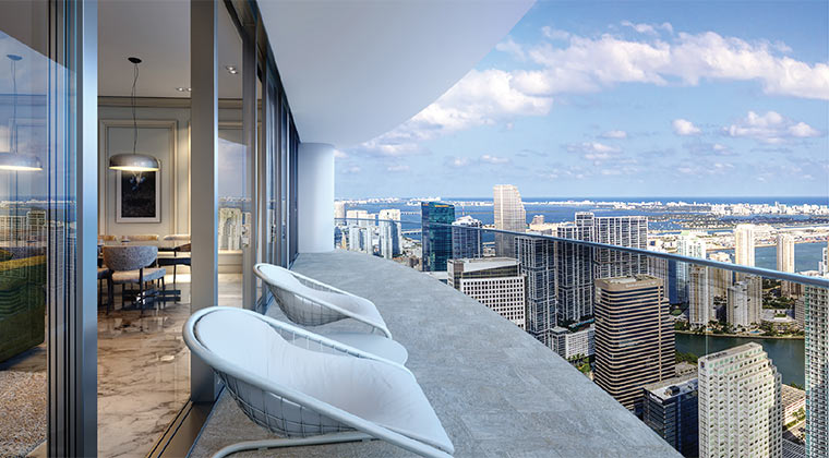 Brickell Flatiron Condo Residences In Miami