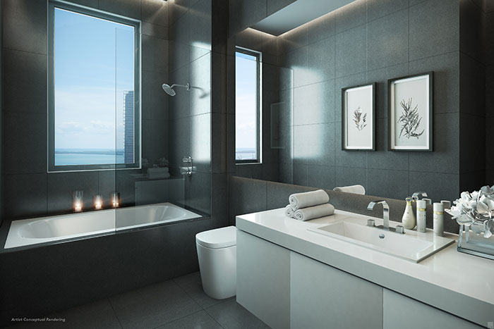 CANVAS Condo Residence Bathroom