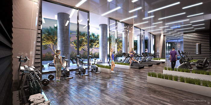 CANVAS Condo Residence Gym