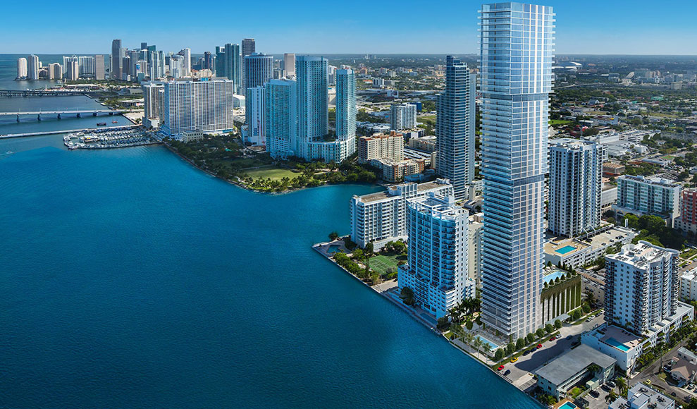 Elysee, New Luxury Boutique Tower in Edgewater Miami