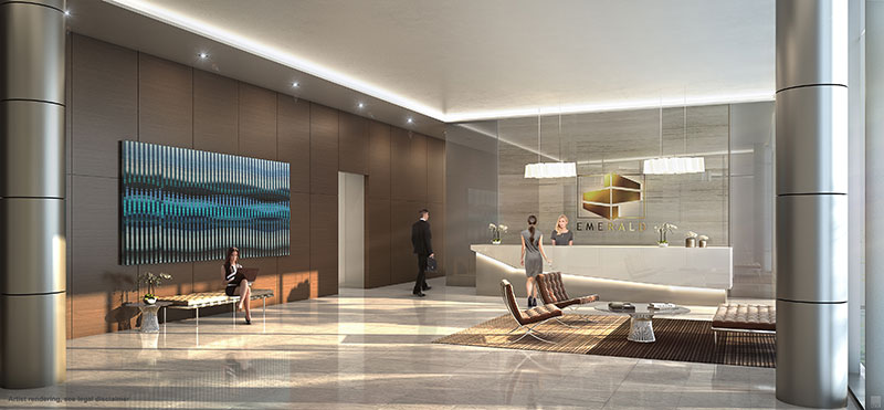 Emerald Aventura, New Class A Office Building - Lobby