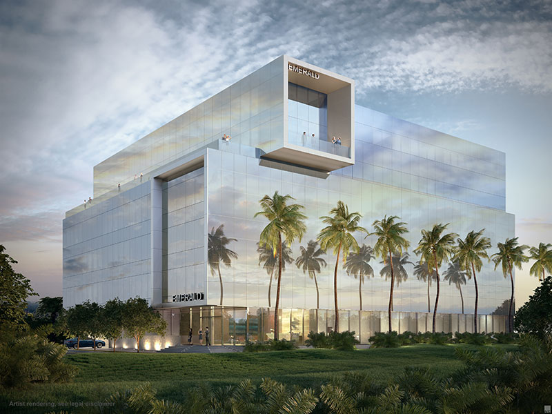 Emerald Aventura, New Class A Office Building in Miami