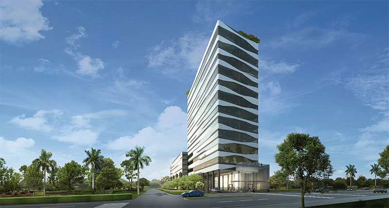 Forum Aventura, New Condo Offices across US1 from Aventura Mall