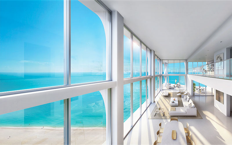 New Jade Signature Residences in Sunny Isles Beach - Sky Villa