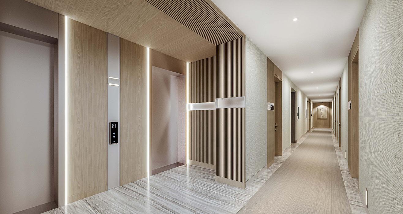 La Baia Hallway