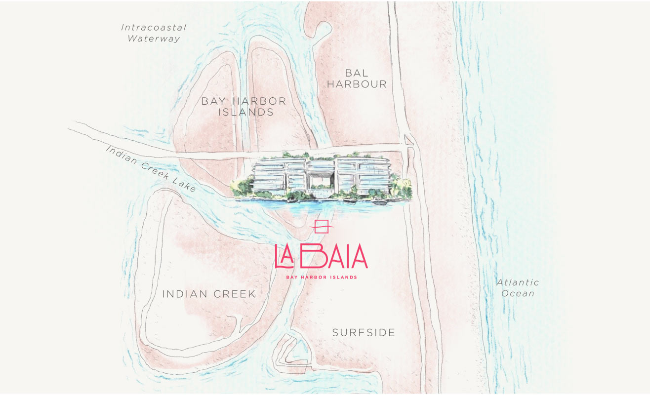 La Baia Location