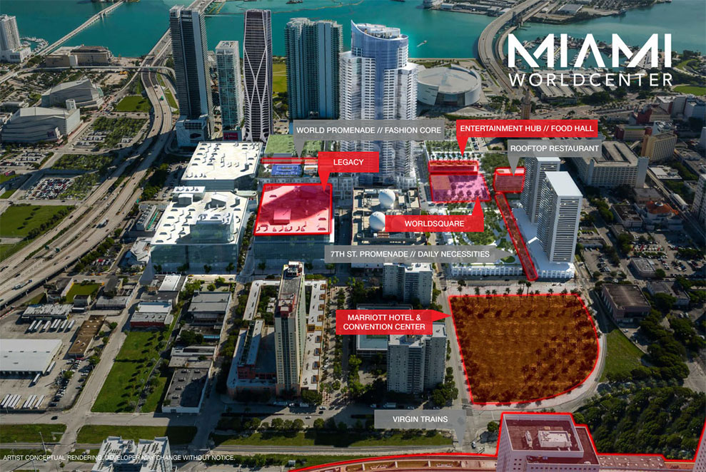 Legacy Miami Hotel & Residences Location