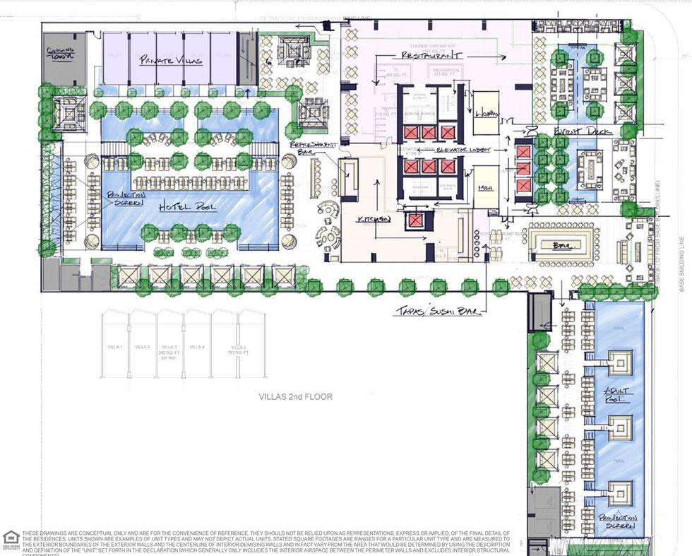 Legacy Miami Hotel & Residences Atrium
