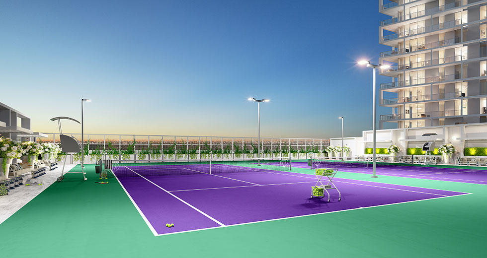 Metropica Tennis Court