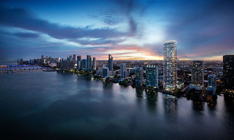 Missoni Baia Residences in Edgewater, Miami