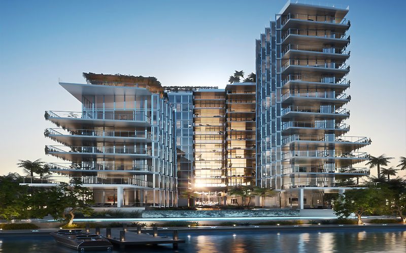 Monad Terrace Waterfront Residences in South Beach, Miami