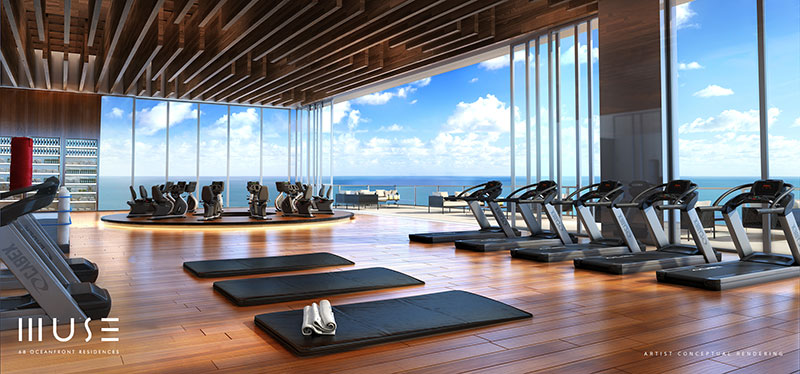 MUSE Sunny Isles Residences - Gym